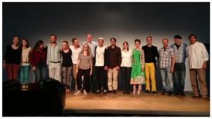 TheRealGroup - Gruppenbild mit Dirigenten