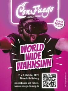Plakat World Wide Wahnsinn